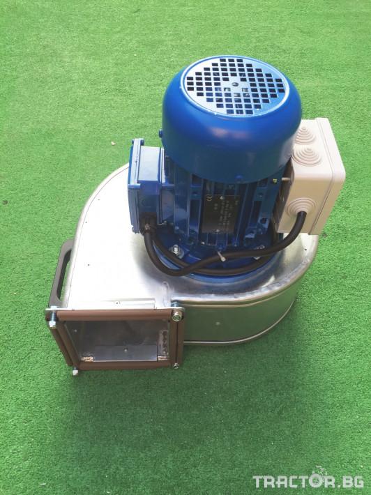 Обработка на зърно Охладител за зърно (духалка за зърно) с мотор 1.1kW 3 - Трактор БГ