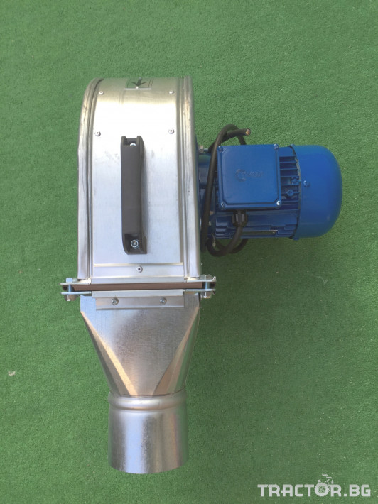 Обработка на зърно Охладител за зърно (духалка за зърно) с мотор 1.1kW 1 - Трактор БГ