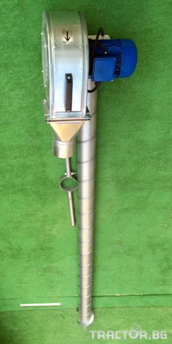 Обработка на зърно Охладител за зърно (духалка за зърно) с мотор 1.1kW 0 - Трактор БГ