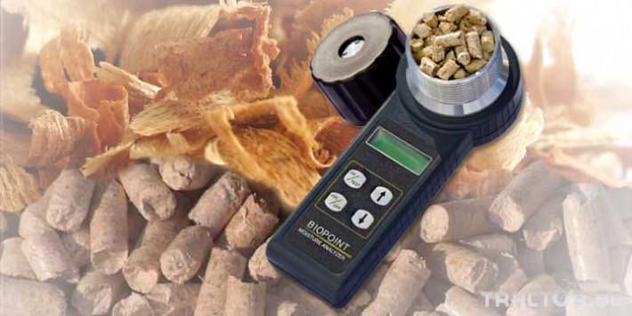 Прецизно земеделие Влагомер за пелети Biopoint 0 - Трактор БГ