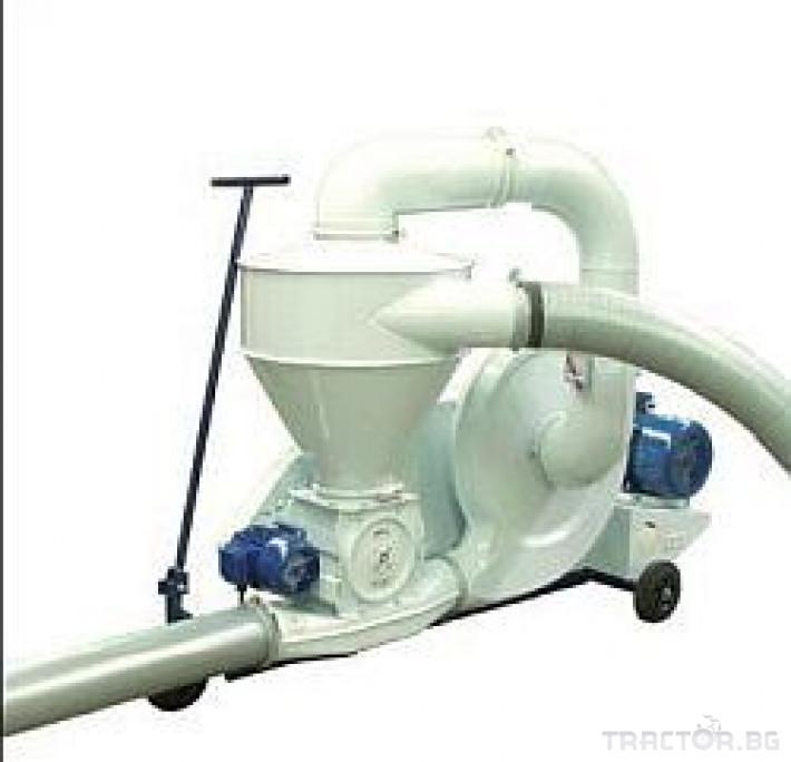 Обработка на зърно Пневматичен зърнотоварач (пневматичен транспортьор за зърно) 4 - Трактор БГ
