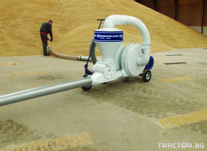 Обработка на зърно Пневматичен зърнотоварач (пневматичен транспортьор за зърно) 2 - Трактор БГ