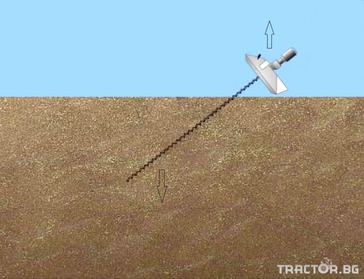 Обработка на зърно Обръщач (миксер) за аерация на зърно 0 - Трактор БГ