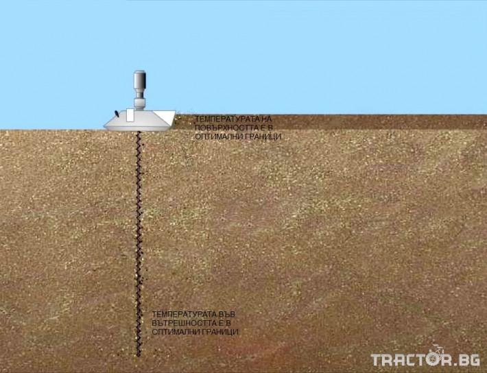 Обработка на зърно Обръщач (миксер) за аерация на зърно 4 - Трактор БГ