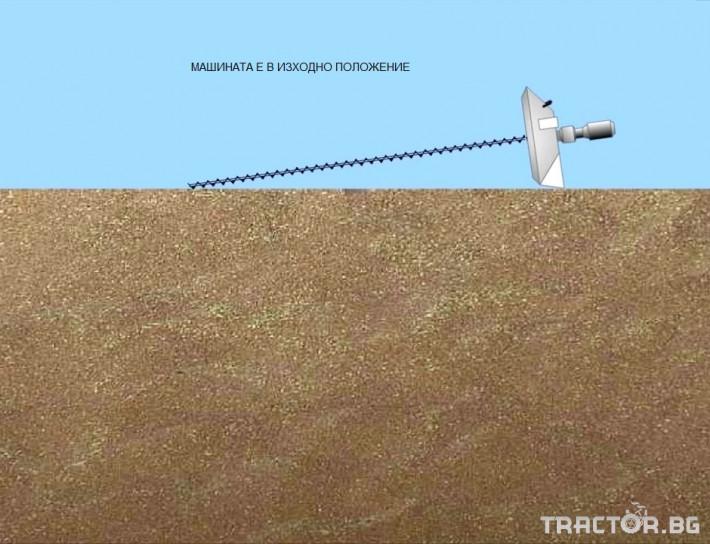 Обработка на зърно Обръщач (миксер) за аерация на зърно 6 - Трактор БГ