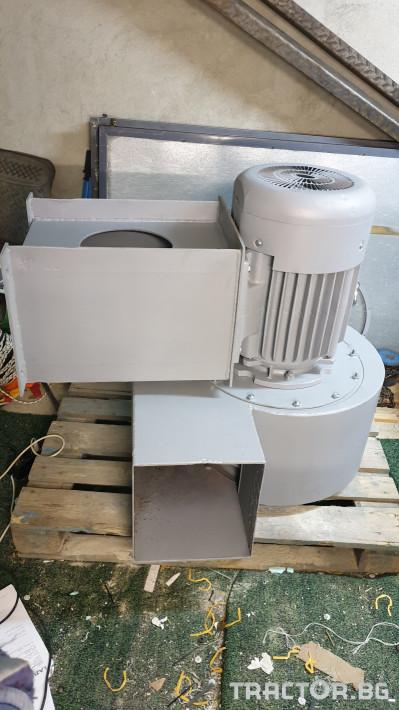 Машини за ферми Турбинен центробежен вентилатор 17 кВт 0 - Трактор БГ