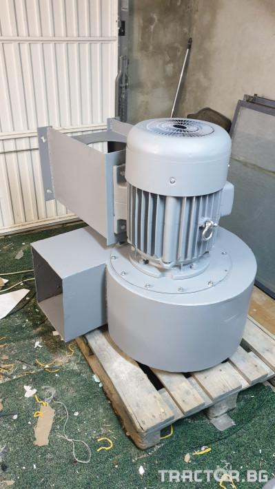 Машини за ферми Турбинен центробежен вентилатор 17 кВт 1 - Трактор БГ