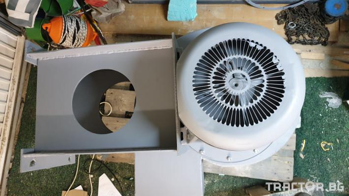 Машини за ферми Турбинен центробежен вентилатор 17 кВт 2 - Трактор БГ