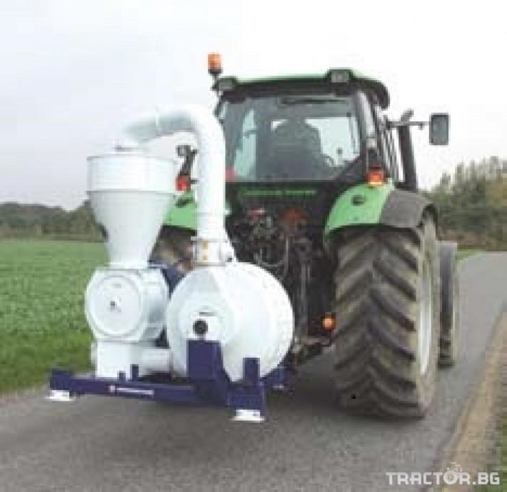 Обработка на зърно Пневматичен зърнотоварач (пневматичен транспортьор за зърно) 3 - Трактор БГ