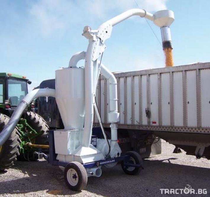 Обработка на зърно Пневматичен зърнотоварач (пневматичен транспортьор за зърно) 0 - Трактор БГ